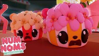 Num Noms  Shadowy Puppet Show  Num Noms Snackables Compilation  Videos For Kids