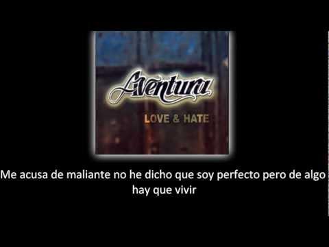 Aventura - La Guerra (lyric - letra)