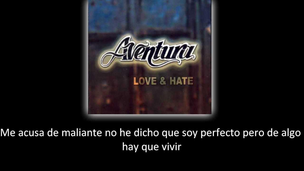 Aventura - La Guerra (lyric - letra) image