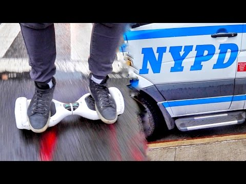 HOVERBOARDS MADE iLLEGAL IN NYC