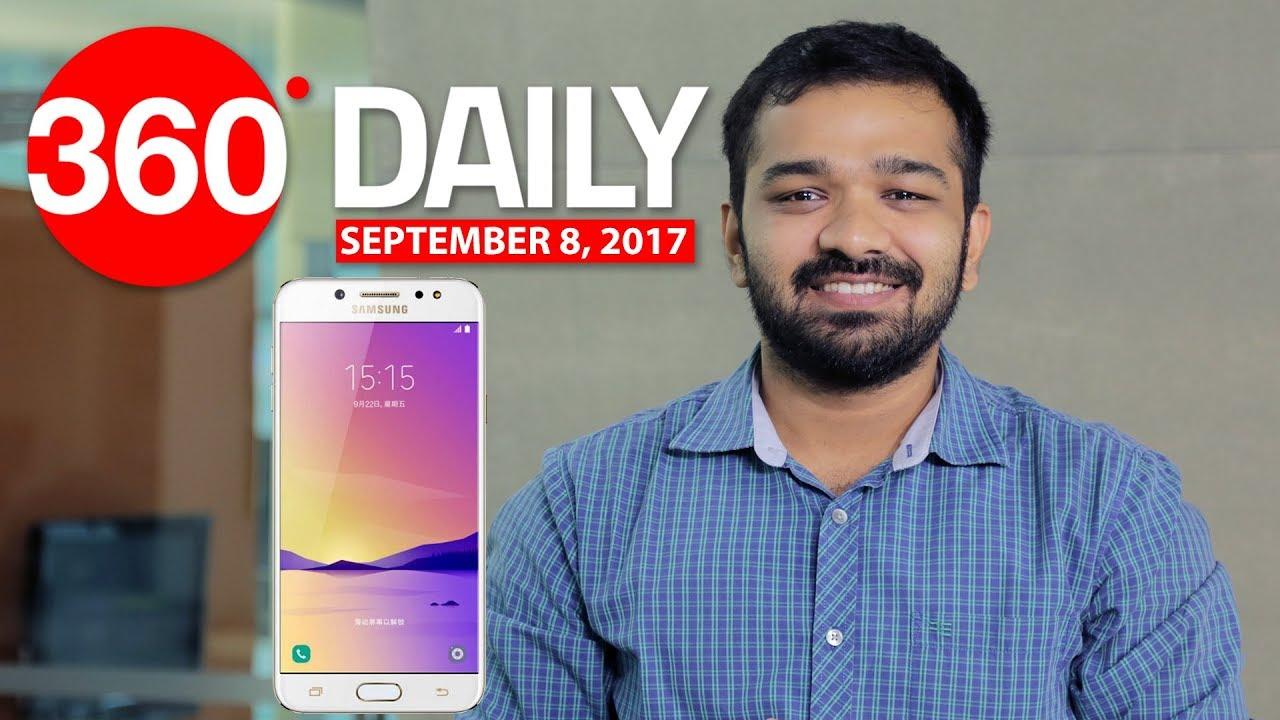 Samsung C8 Details Revealed, Flipkart Big Billion Days Sale, and More (Sep  8, 2017)