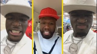 "Ralo ""Diss 50 Cent For Defending Blac Youngsta; SHUT YA A*S UP"""