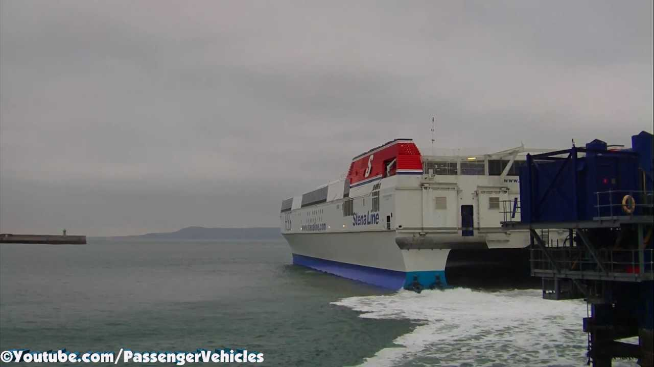 The Biggest Fast Ferry in the World - YouTube
