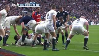 Highlights: England 61 Scotland 21