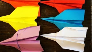 How to Make a Paper Airplane | Origami Paper Airplane