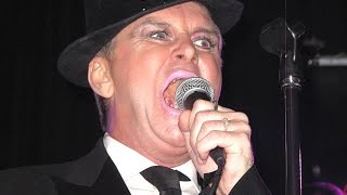 "The Late Steve Strange, Visage performing ""Fade to Grey"", The Citadel, St Helens, 1 February 2014."