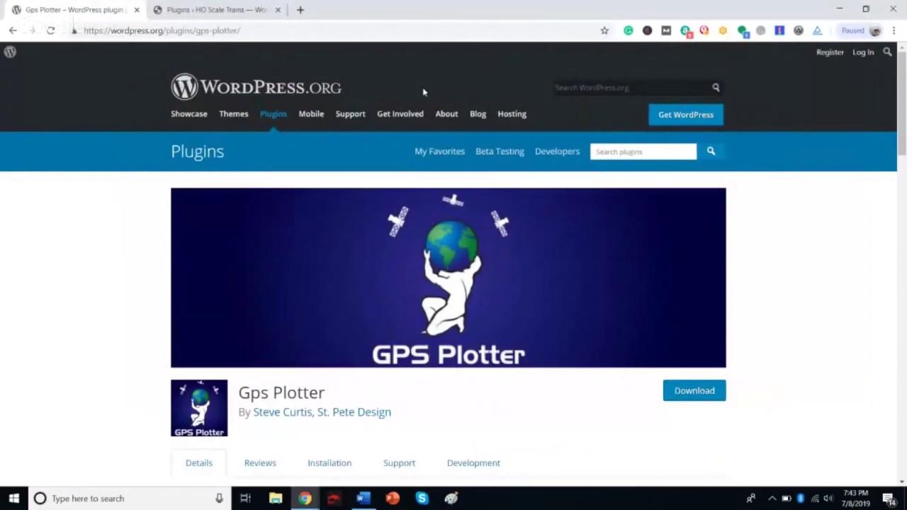 GPS Plotter - St  Pete Design