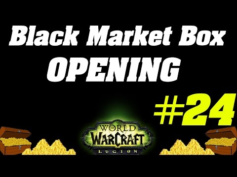 Opening Up Unclaimed Black Market Container #24
