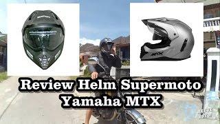 MotoVapor - Review Helm Supermoto Yamaha MTX