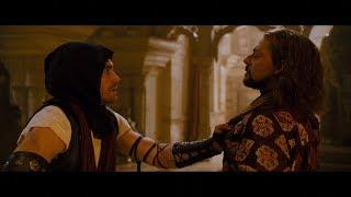 Дастан встречается со своим братом Тасом. Тас использует Кинжал Времени. HD