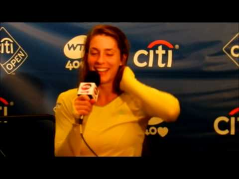 Andrea Petkovic Gives Funniest WTA Finalist Press Conference Ever
