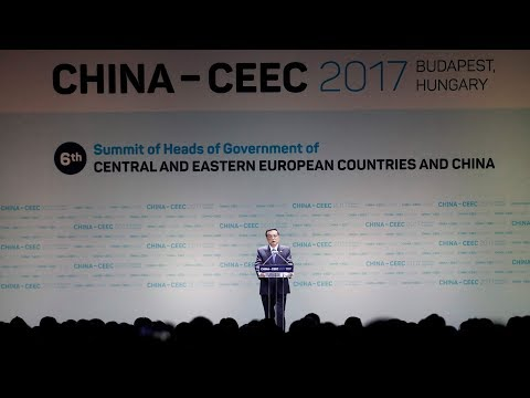Chinese Premier Li Keqiang meets with European leaders