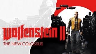 WOLFENSTEIN 2 - PC Gameplay #1 Deutsch German Let