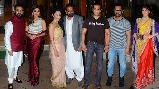 Download lagu Sanjay Dutt s GRAND Diwali Party 2017 Full Salman Khan Aamir Khan Jacqueline Shilpa Shetty MP3