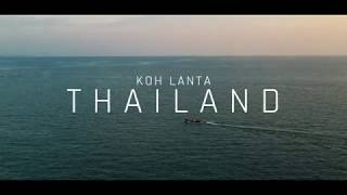 TRAVEL VIDEOS | Koh Lanta, Thailand | 4K Mavic Pro 2