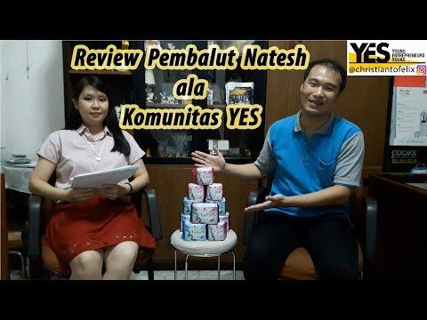 Review Pembalut Natesh Ala Komunitas YES