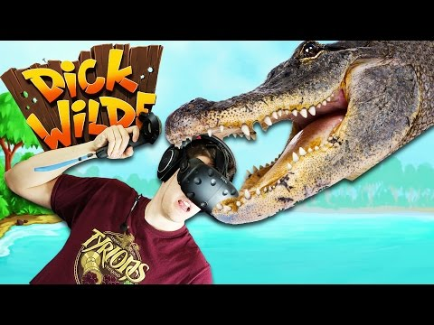 Clearing the Swamps in Virtual Reality! - Dick Wilde Gameplay - Dick Wilde VR HTC Vive