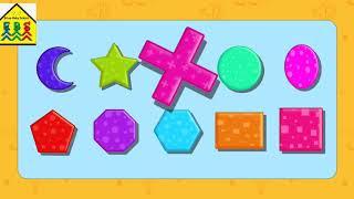 learning shapes for kids   early fun educational video   baby school   kindergarten kids