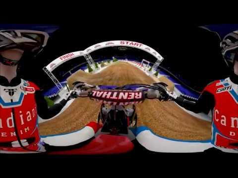 MŚ FIM Super Enduro 2017 - wizualizacja toru w VR