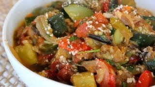 Ratatouille  (aka End Of The Summer Veggie Stew)