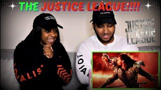 JUSTICE LEAGUE - Official Heroes Trailer REACTION!!!