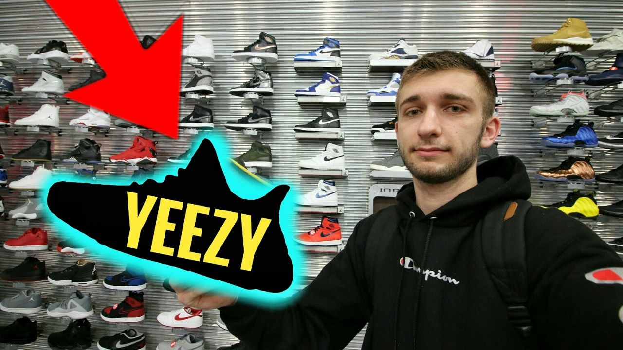 a7c1efe8c35 INSANE YEEZY + SUPREME CONSIGNMENT STORE IN THE MALL?!