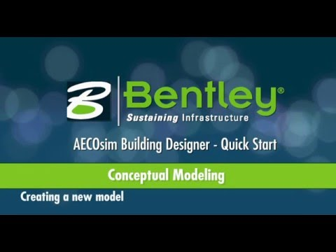 AECOsim Building Designer   A01   Conceptual Mass Modeling