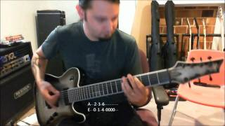 Sepultura - Slave New World from Chaos AD (rhythm & solo guitar lesson)