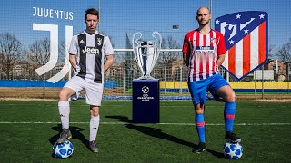 CR7 VS GRIEZMANN | FREE KICKS Juventus VS Atletico Madrid