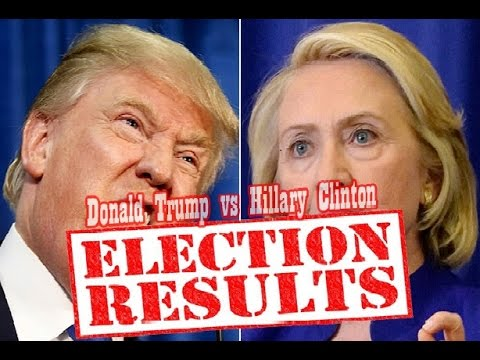 CNN LIVE USA Election Night Result 2016 Trump VS Hillary LIVE