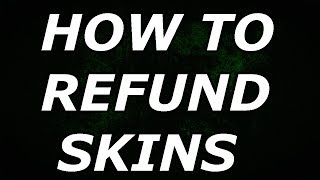 HOW TO REFUND SKINS , EMOTES & GLIDERS In Fortnite
