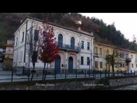 Visit Greece Florina 4K (Griechenland). Φλώρινα, ποταμός Σακουλέβας.
