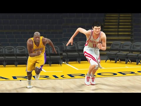Who is the Slowest Player in the NBA? Shaq, Yao Ming, Howard, DeMarcus Cousins? NBA 2K17