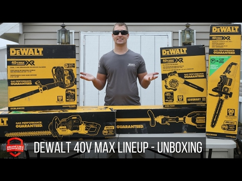 DeWalt 40V Max Outdoor Power Equipment (OPE) Unboxing!