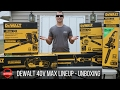 DeWalt 40V Max Outdoor Power Equipment (OPE) Unboxing!