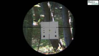 Nikko Stirling Panamax 8-24x50 LR Half Mil Dot Reticle Subtensions