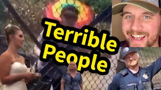 'I AIN'T LEAVING' Terrible People | SmileyDaveUK | Comedy Reacts