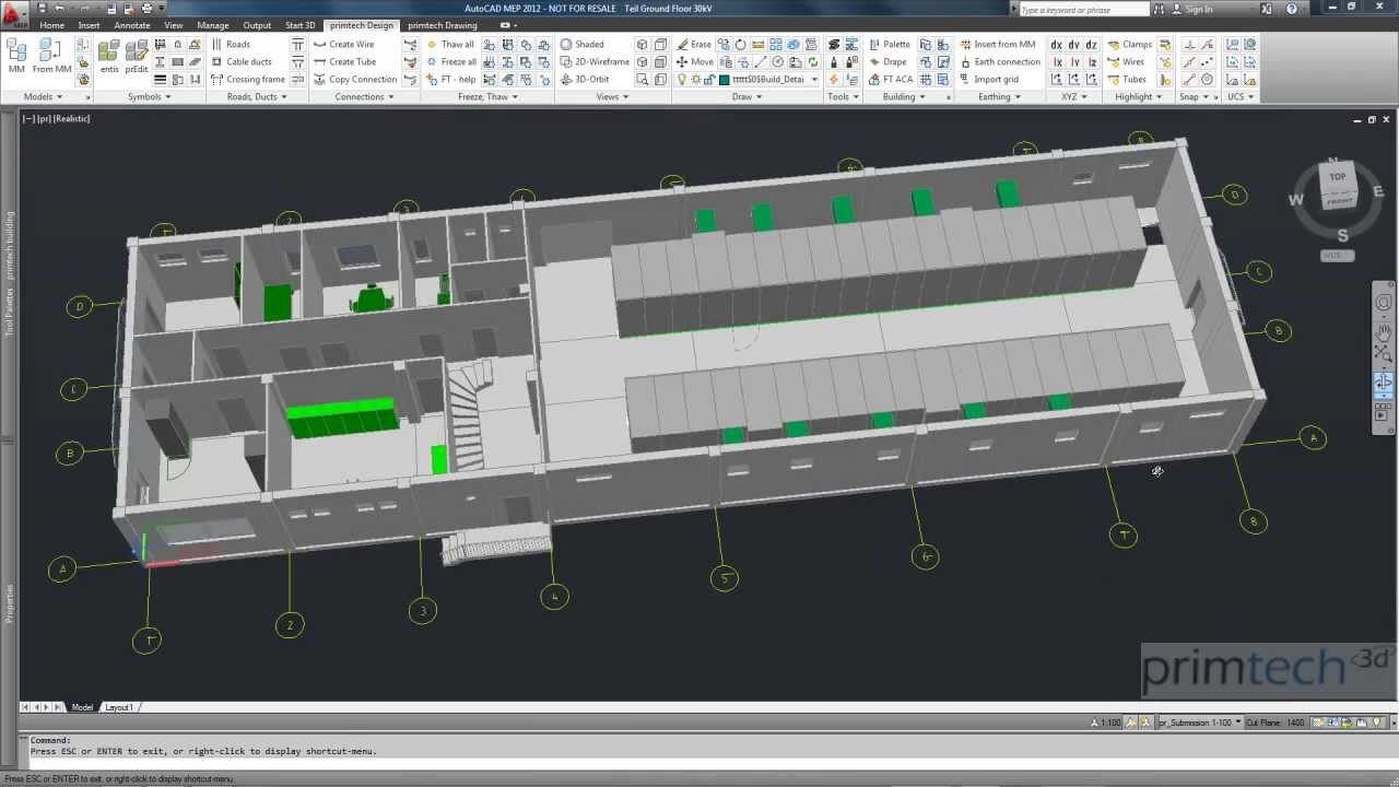 Substation Design Bim Building Information Modeling