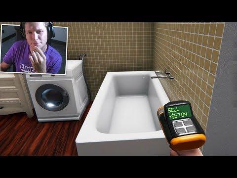 House Flipper Game - Part 3 - MAJOR Bathroom Remodel