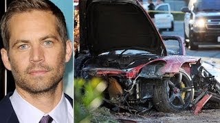 Car Crash Actor Paul Walker Fash & Furious