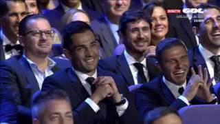 Mejores momentos de Dani Martínez / Premios de La Liga 2016