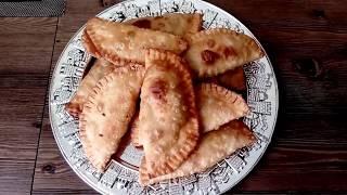 Чебуреки! Мини чебуреки готовим дома! #чебуреки. Самое удачное тесто для чебуреков! #чебурекиготовим