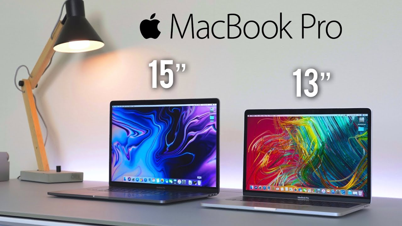 """2018 Macbook Pro Unboxing and Review after Update! (13"""" vs 15"""")"""