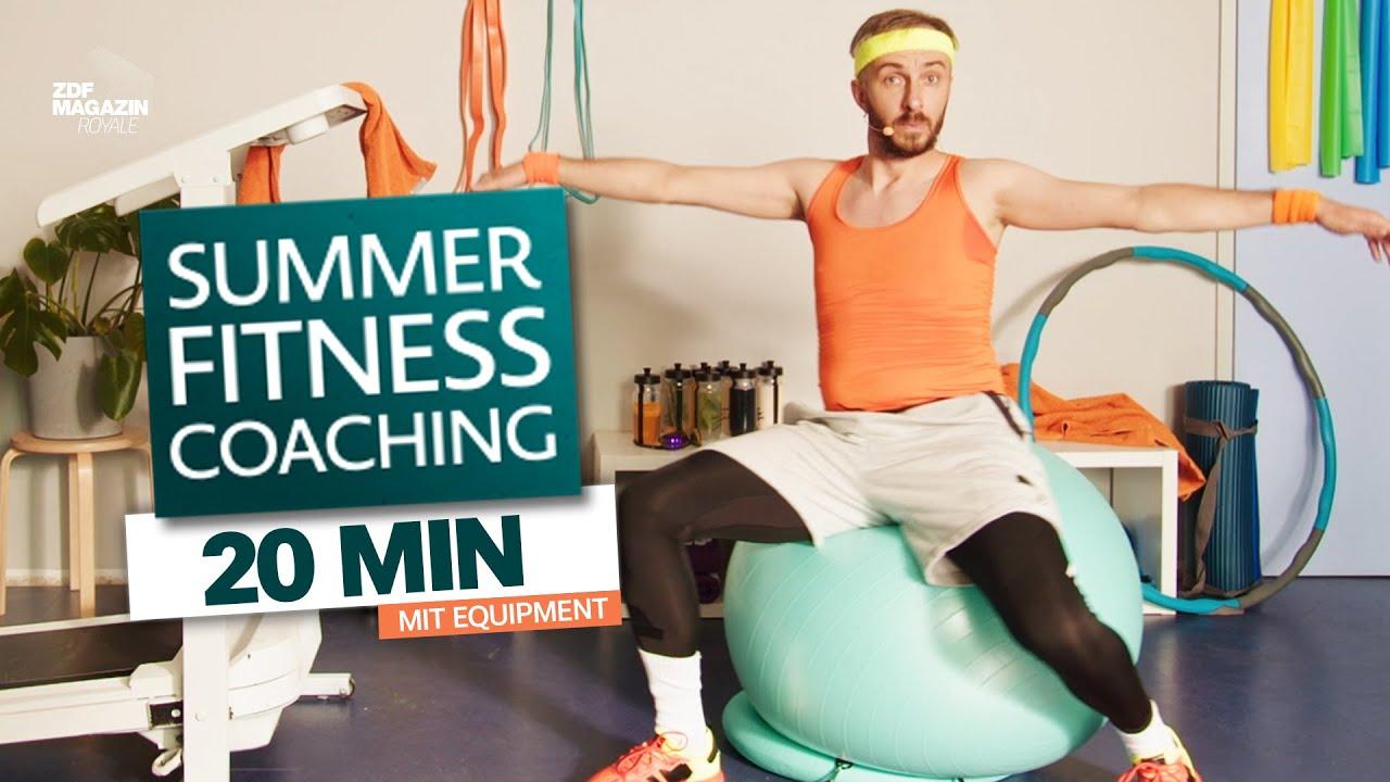Full Body Workout für Beginner | Mit Equipment | PART 1 | ZDF Magazin Royale