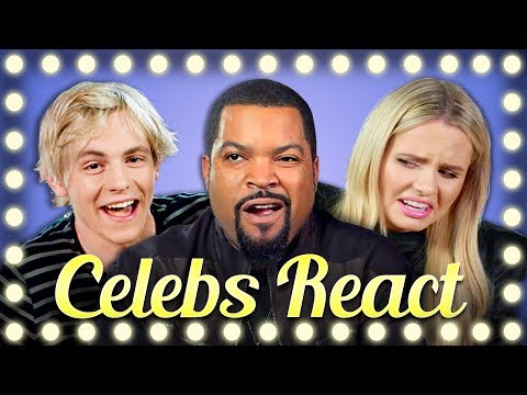 CELEBS REACT TO BEANBOOZLED CHALLENGE COMPILATION