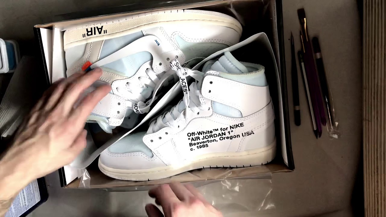 "timeless design 84045 d33db ""GOKU"" x Off-White Jordan 1 Customs"