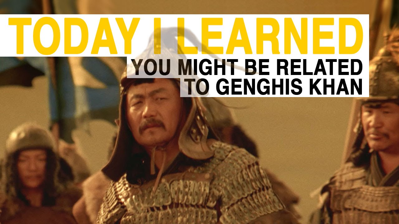 how to tell if you are related to genghis khan