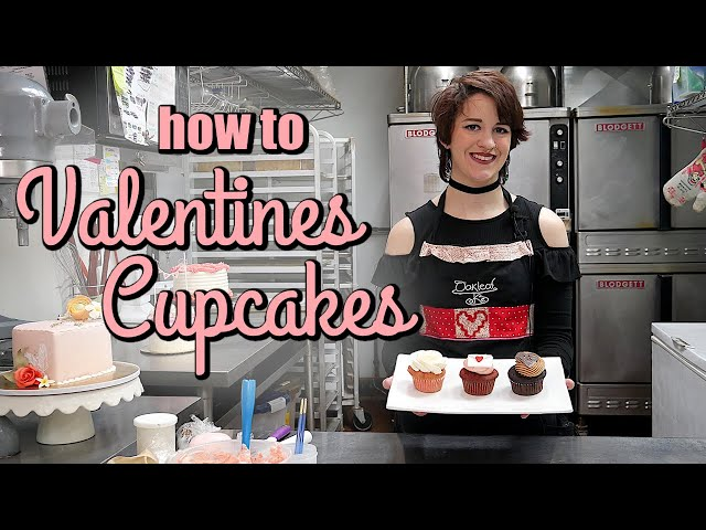 How to Decorate Adorable Valentines Cupcakes!