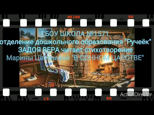Изображение предпросмотра прочтения – ВераЗадоя читает произведение «В сонном царстве» М.И.Цветаевой