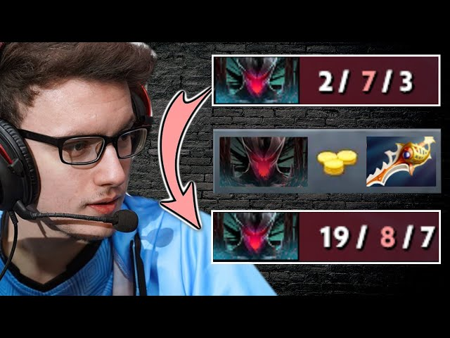MIRACLE Terrorblade Comeback - from FEEDER to RAPIER BOSS